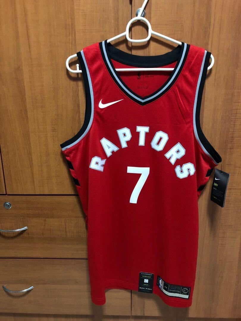 reputable site 291f8 888a7 Official Toronto Raptors Nike NBA Icon Edition Swingman ...