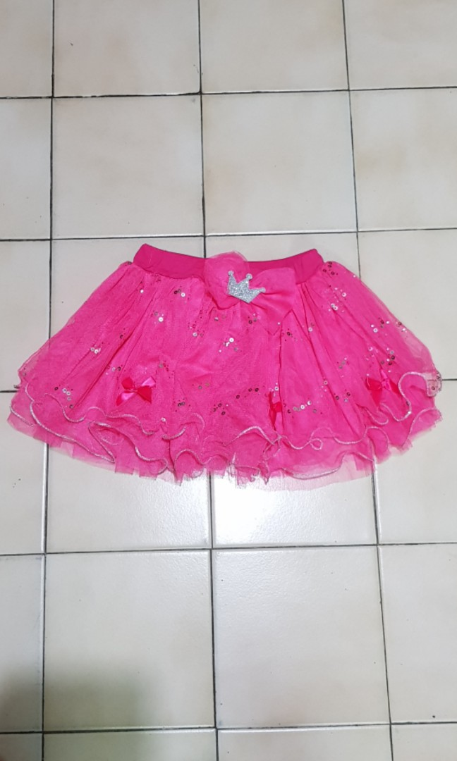 7609e0e01 Pink Tutu Skirt, Babies & Kids, Girls' Apparel, 1 to 3 Years on Carousell