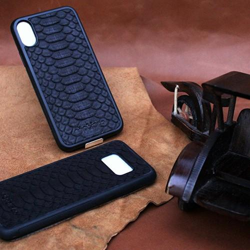 premium phyton leather case