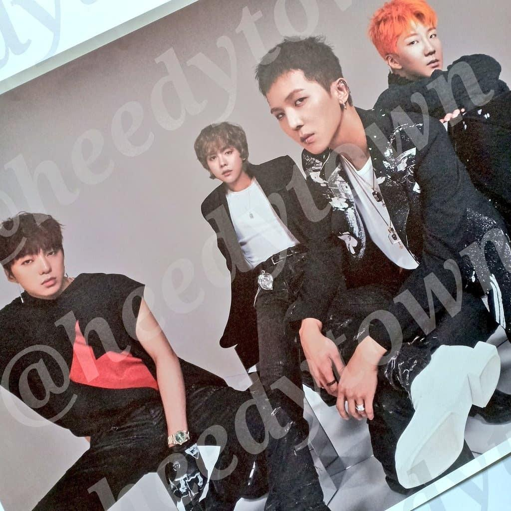 [READY STOCK] OFFICIAL WINNER - WE Poster (Double Side)