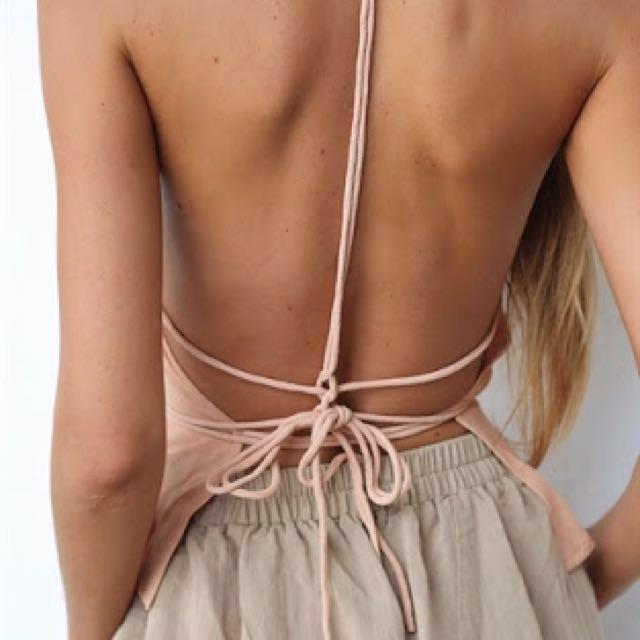 Sabo Skirt Backless Cami