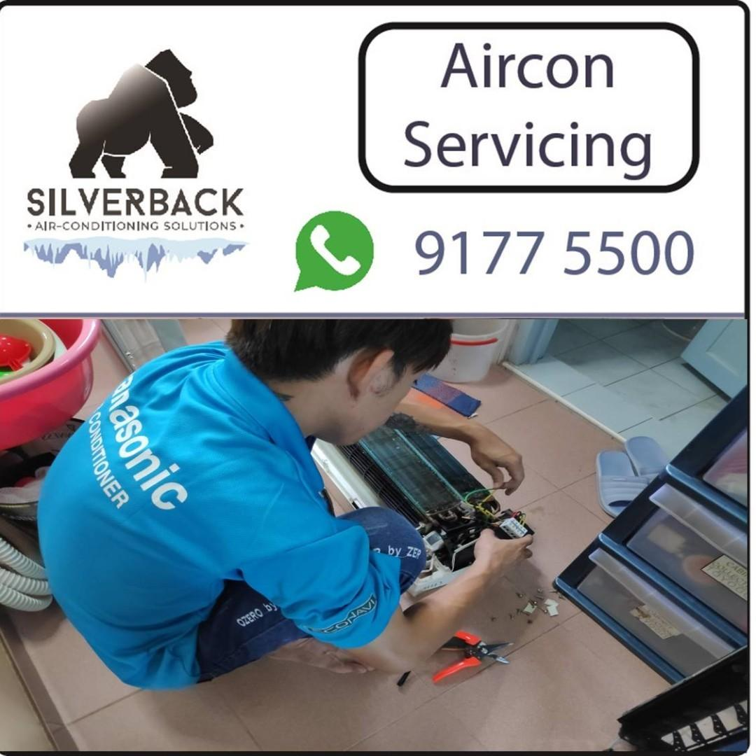 (PROMOTION) Aircon cleaning and repair services