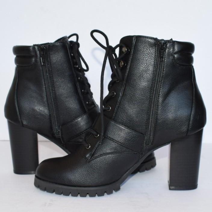 Simply Vera Vera Wang Pintail High Heel Ankle Boots Size 8