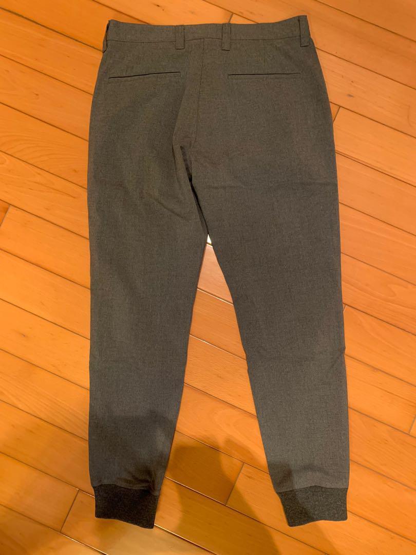 Sophnet 2 tucks ribbed pants sz M grey