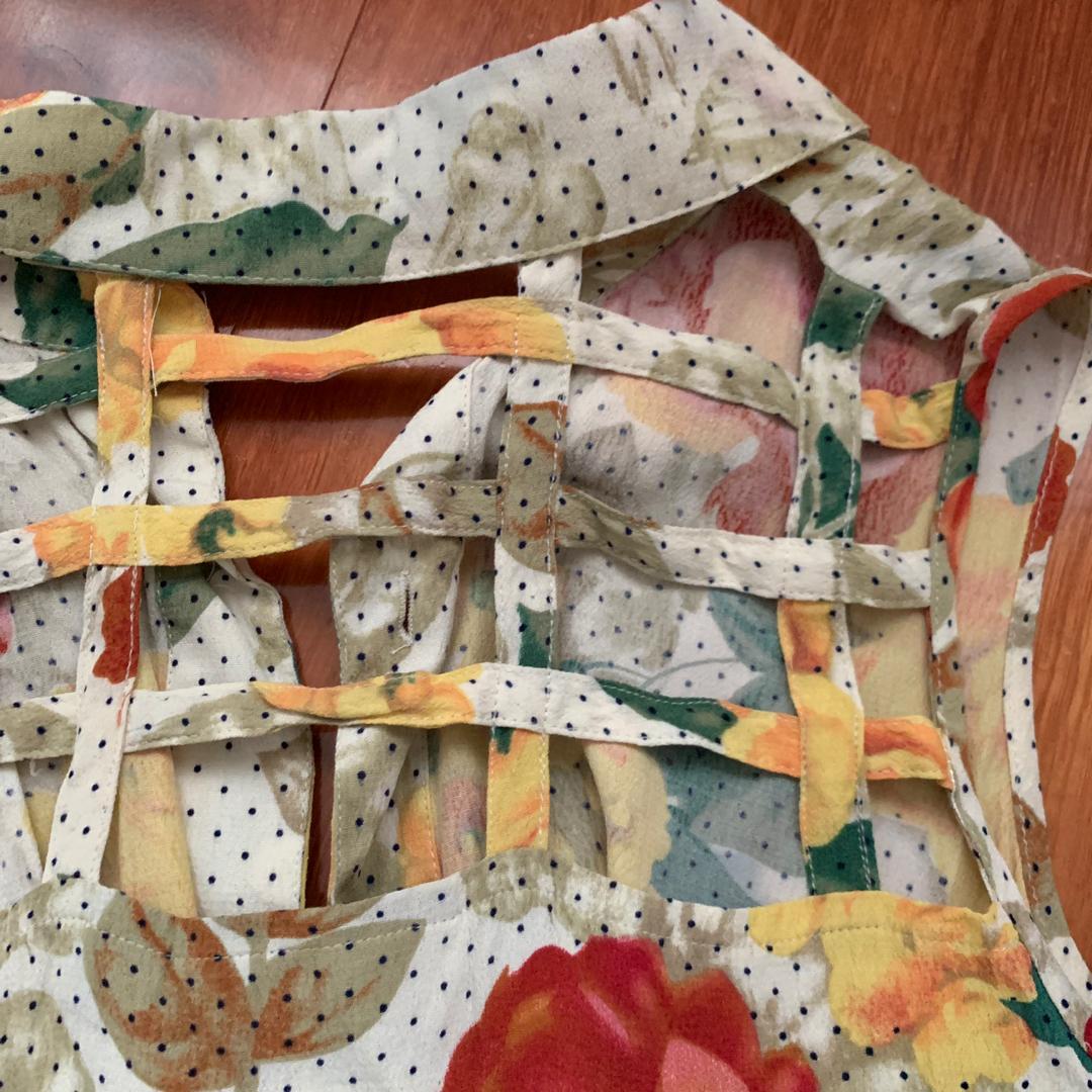 Sunflower Tie Front Top