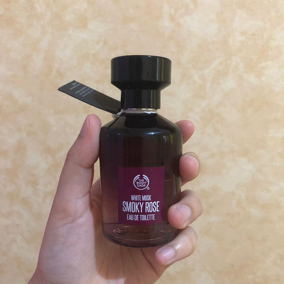 The Body Shop White Musk Smoky Rose Eau De Toilette Perfume