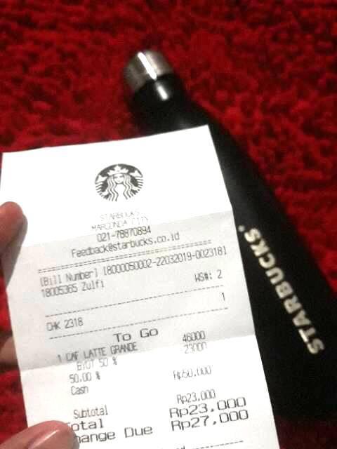 Tumbler Starbucks Swell 550 ml