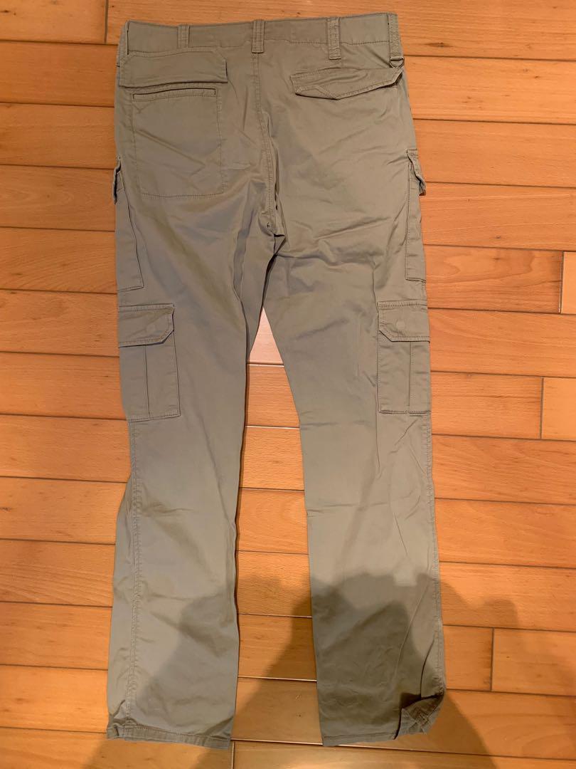 Uniform Experiment UE 8-pockets slim fit cargo pants Beige