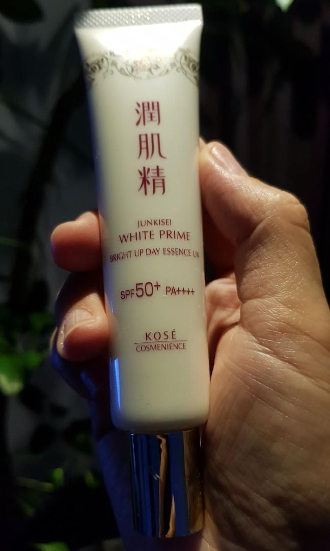 高絲寇絲媚影植萃白潤肌精UV美肌亮白隔離乳SPF50