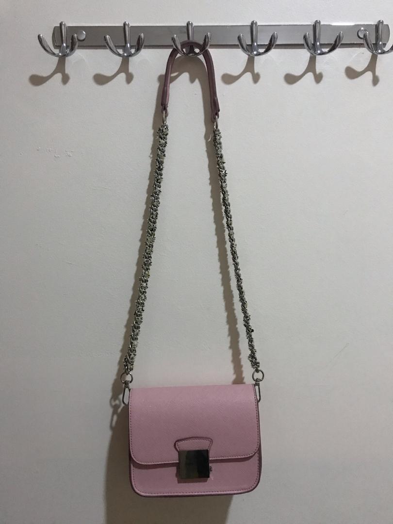 Zara Crossbag Pink