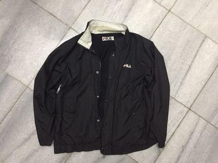 Fila Coach Jacket Vintage Hitam / Black