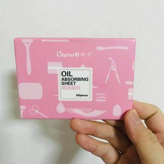 🚚 Oil blotting sheet