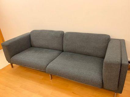 布藝梳化 sofa 3 seater