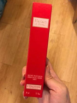 Loccitane rose perfume
