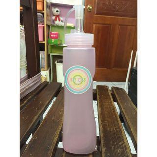 🚚 【KEYTOSS 詰朵斯】新色選 水晶 醬料瓶 醬油瓶 400ML (6*6*23CM) 粉色 K400