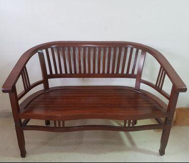 🚚 Teakwood Sofa Chair Bench