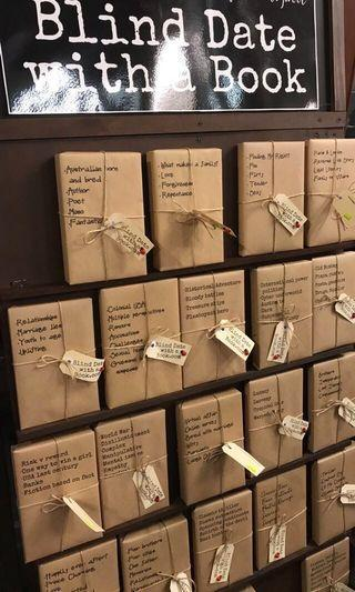 Blind Date with a Book: Mystery Book