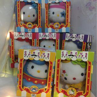 Sanrio Hello Kitty - McDonalds' Set Circus of Life