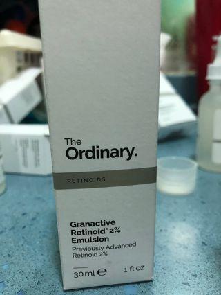 The Ordinary granactive retinoid 2 emulsion