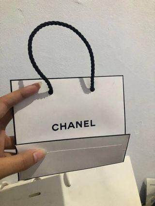 Paperbag chanel original 100%