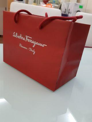 Salvatore Ferragamo paper bag