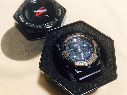 Authentic G-Shock Watch - 5229 GA-200RG-1A (Black and Rose Gold)