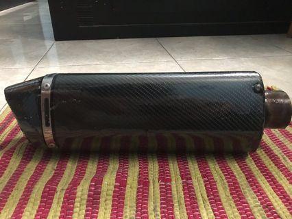 slincer knalpot custom carbon