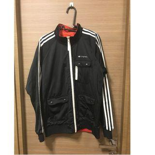 Adidas 雙面外套 M-REVERSIBLE TT JACKET