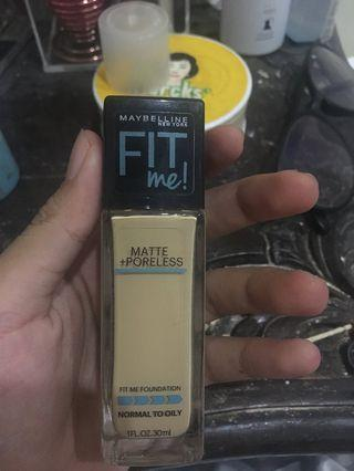Maybelline Fit Me Matte Poreless Foundation 128 Warm Nude