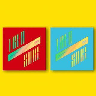 ATEEZ(에이티즈) Mini Album - TREASURE EP.3: ONE TO ALL [ILLUSION / WAVE VER]