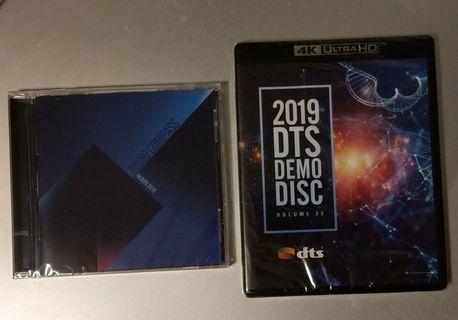 音響羅盤Audio Compass 2019 CD(HKAVPE 2019)另送2019 DTS DEMO DISC(4K ULTRA HD)