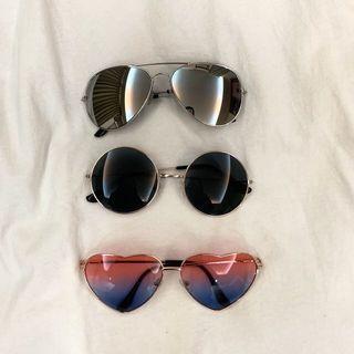 🚚 太陽眼鏡 $1/80