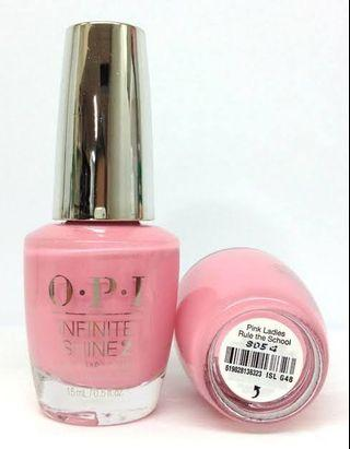 OPI Nail Polish Infinite Shine Pink Ladies Rule The School
