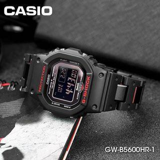 🔥❤️🖤GWB5600 Black Red Steel Resin Casio Gshock Unisex with FREE DELIVERY 📦 G-Shock