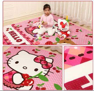 Baby Crawling Mat Hello Kitty Play mat LARGE SIZE *Limited qty only*