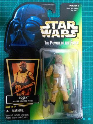 Star Wars Figure ~ Bossk with Blaster Rifle and Pistol