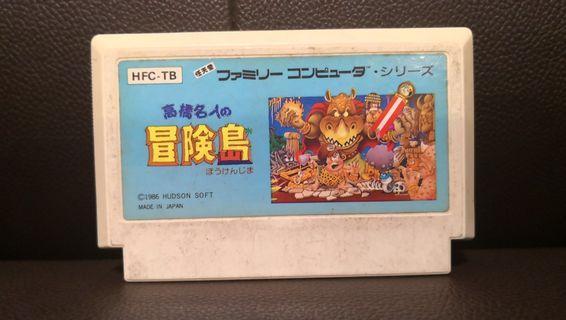 高橋名人冒險島 NES FC Nintendo Famicom Game 任天堂 紅白機 遊戲帶