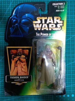 Star Wars Figure ~ Tusken Raider with Gaderffii Stick