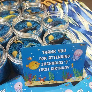 Sensory play party favors