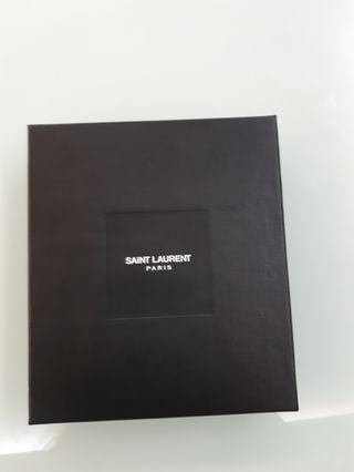 YSL leather coins bag / card holder