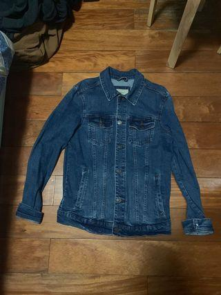 Pull and bear denim jacket 牛仔外套