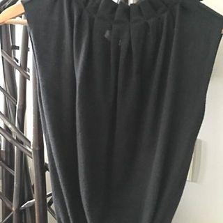 Missoni Black Cashmere Sleeveless Sweater