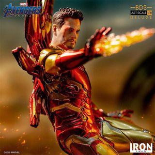 「預訂」Iron Studios BDS Art Scale 1/10 Figure (AvengersE.G.Ver) Iron Man Mark 85 Deluxe.Tony Stark 鐵甲奇俠 東尼·史塔克