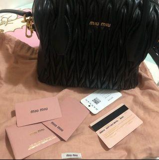Miu Miu Bag 100%real 80%new
