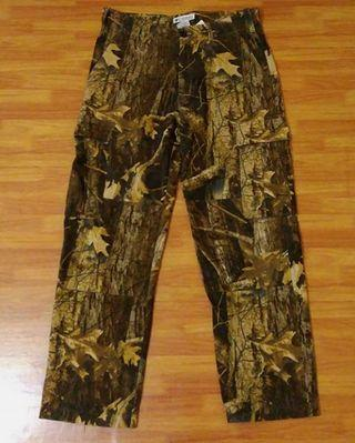 Celana Outdoor COLUMBIA Camo Cargo Pants