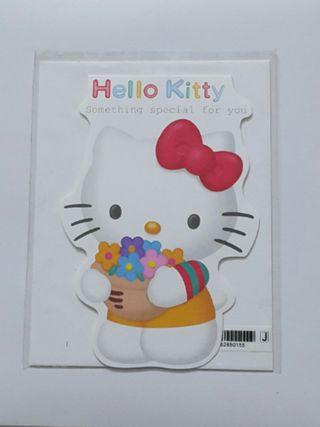 Hello Kitty Greeting Cards x 6pcs