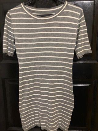 🚚 Cotton Striped Dress