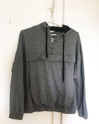 Grey Active Sweater Size M-XL