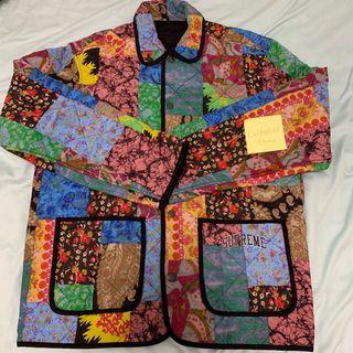 Supreme Reversible Patchwork Quilted Jacket
