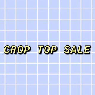 crop top sale!!!